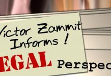 Victor Zammit Informs - A Legal Perspective
