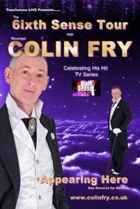 colin fry sixth sense tour