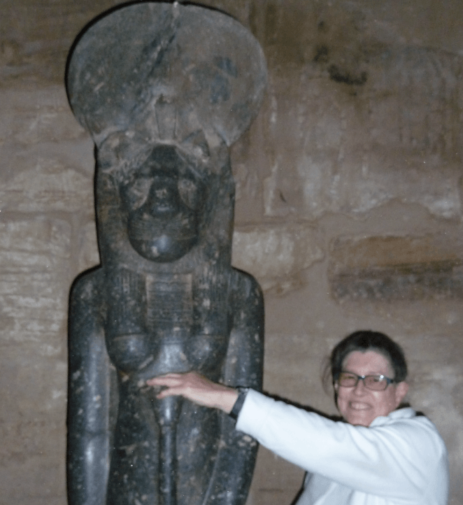 In the sanctuary of Sekhmet