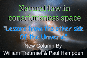 natural laws in consciousness space