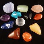 A selection of healing crystals. Photo copyright Jeni Campbell/angeladditions
