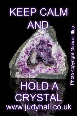 Keep Calm and Hold a Crystal