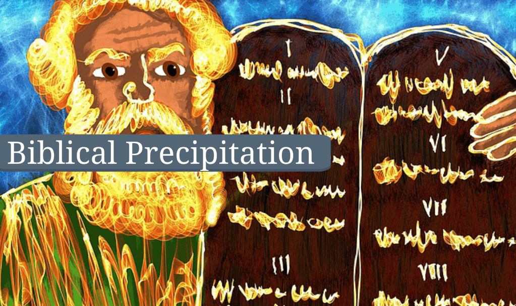 Biblical Precipitation Mediumship