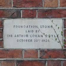 foundation stone sir arthur conan doyle