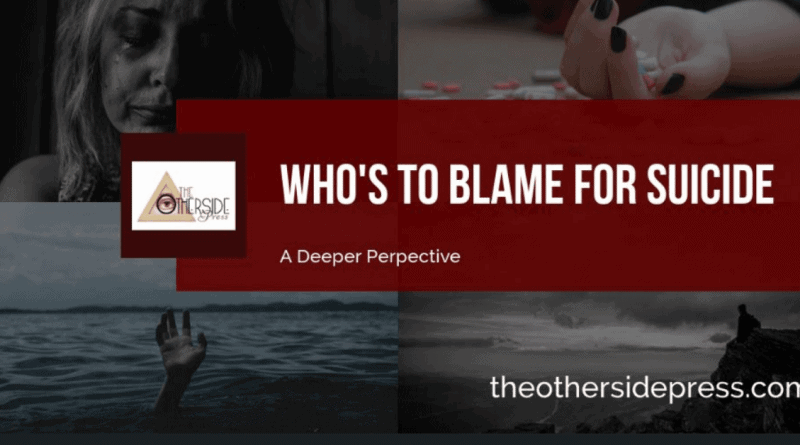 Who's to Blame For Suicide and Are They Punished?